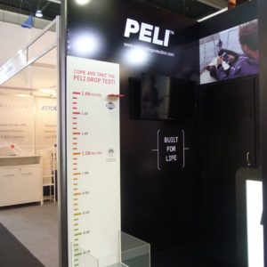Fair spaces stand Peli