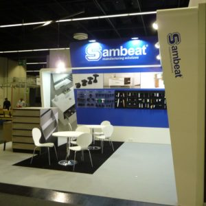 Fair spaces stand Sambeat