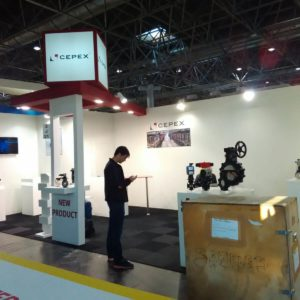 Fair spaces stand Cepex