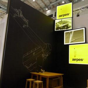 Fair spaces stand Arpes
