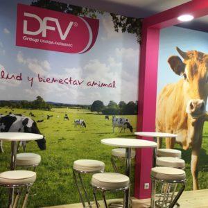 Fair spaces stand DFV