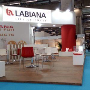 Labiana: un stand que invite a las reuniones